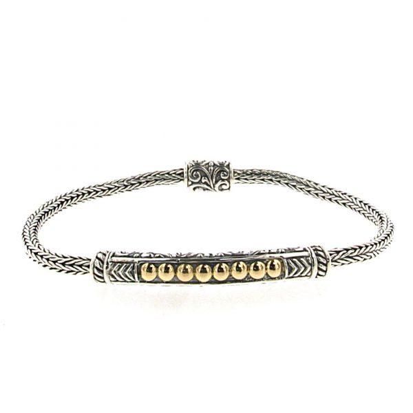 Tulang Naga Chain Bar Bracelet