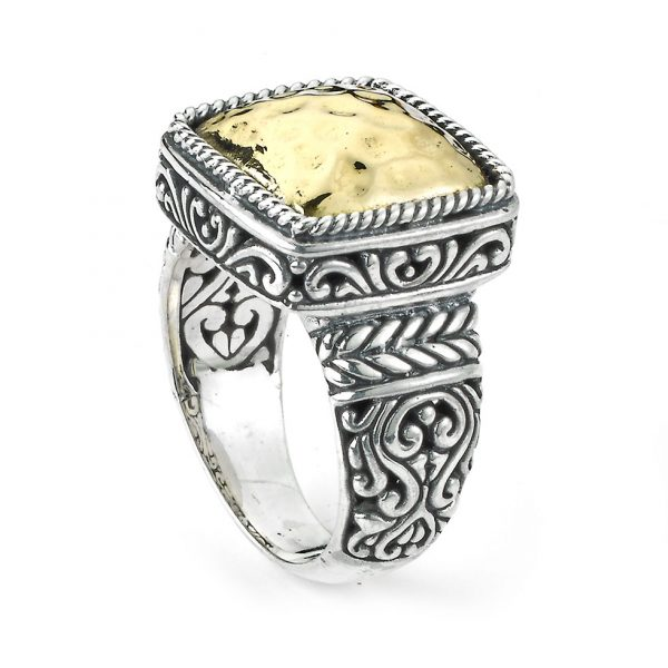 Reign Square Ring by Samuel B.