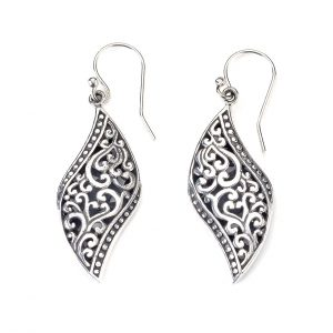 Symphony Swirl Earrings by Samuel B.