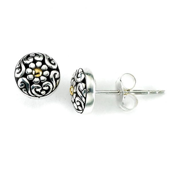 Maybell Floral Studs by Samuel B.