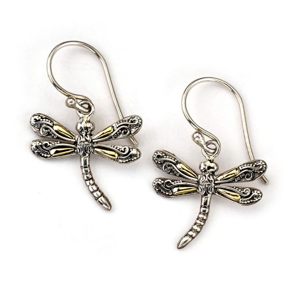 Small Dragonfly Earrings by Samuel B.