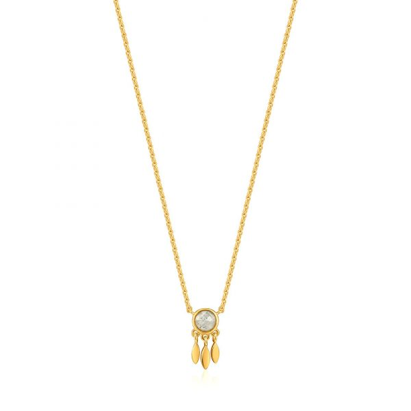 Midnight Fever Fringe Necklace by Ania Haie