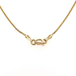 Estate Bezel-set Diamond Necklace