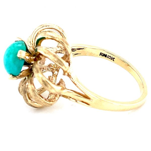 Estate Cabochon Turquoise Ring