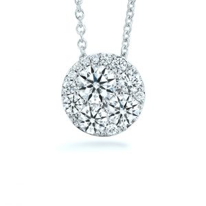 Tessa Diamond Pendant by Hearts On Fire