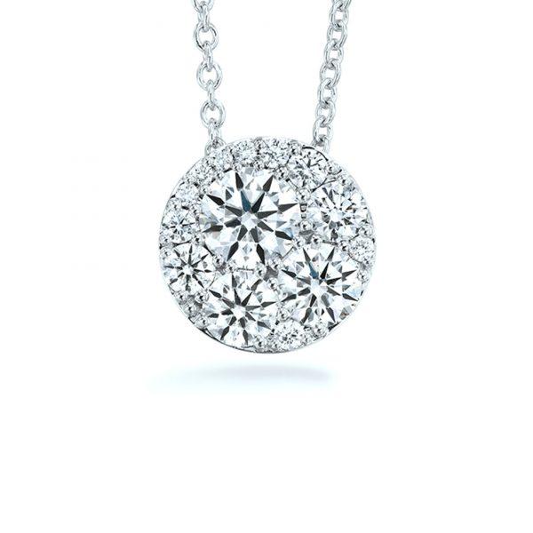 Tessa Diamond Pendant by Hearts On Fire