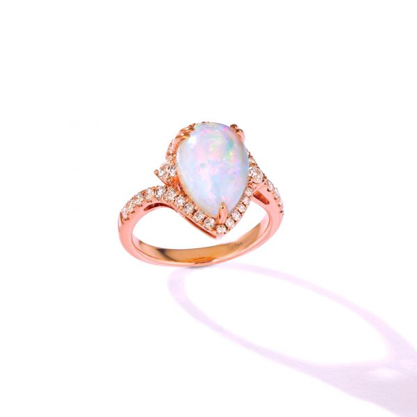 Neopolitan Opal™ and Nude Diamond™ Ring by Le Vian®