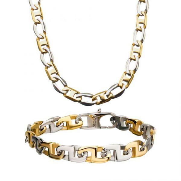 Steel Mariner Link Chain Set