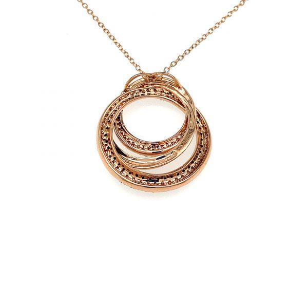 Multi-Circle Diamond Pendant by Effy