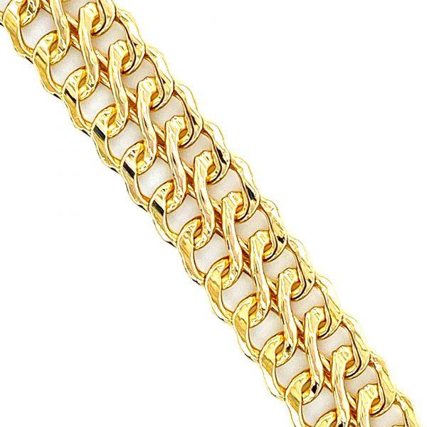 Estate Double Row S-Link Mesh Bracelet
