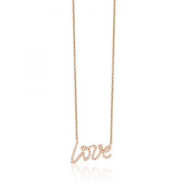 Diamond Love Necklace by Effy