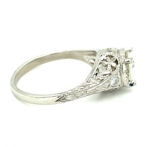 Estate Art Deco Engagement Ring