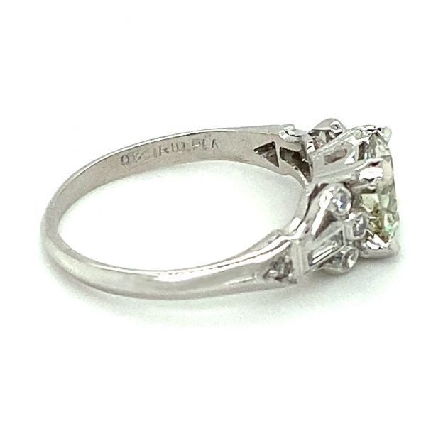 Estate Old Mine Cut Engagement Ring