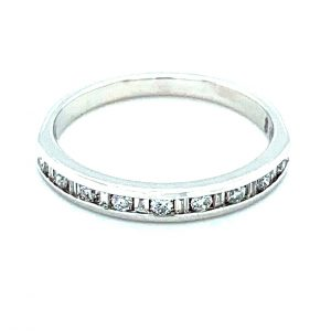 Estate Channel Set Diamond Band