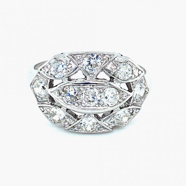 Estate Edwardian Diamond Ring
