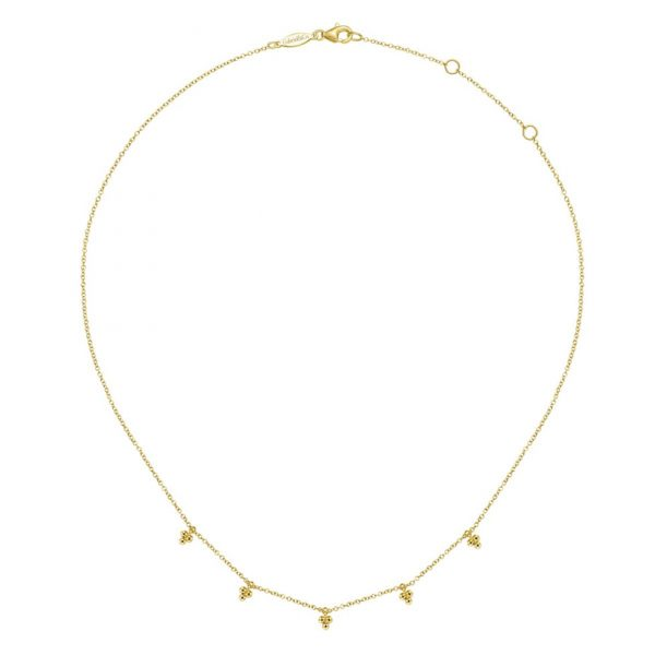Bujukan Bead Drop Station Necklace