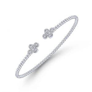Bujukan Bead Split Cuff Bracelet- Multiple Available