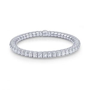 Textured Stations Bangle