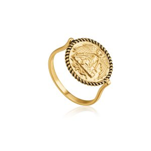 Winged Goddess Ring