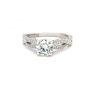 Estate Twist Engagement Ring by Tacori
