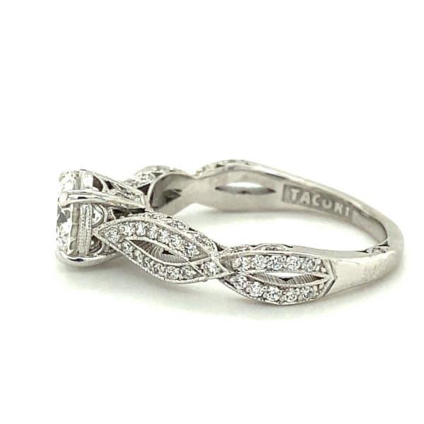 Estate Twist Engagement Ring by Tacori