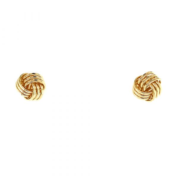 Estate Love Knot Earrings