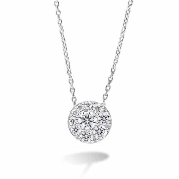 Tessa Diamond Cluster Pendant