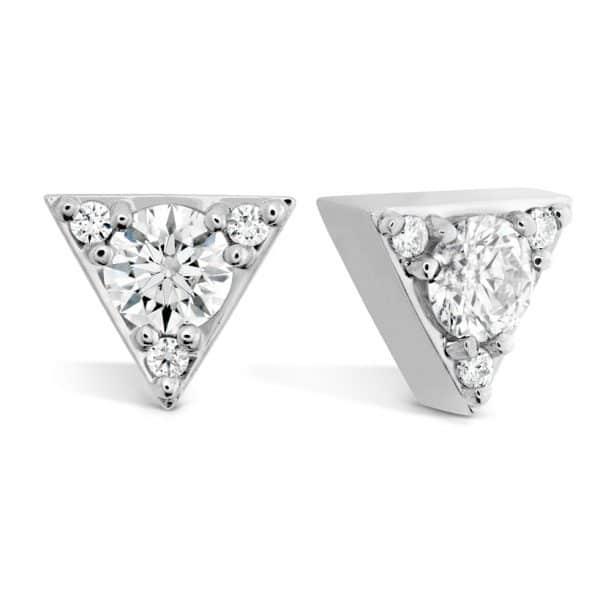 Triplicity Triangle Diamond Studs