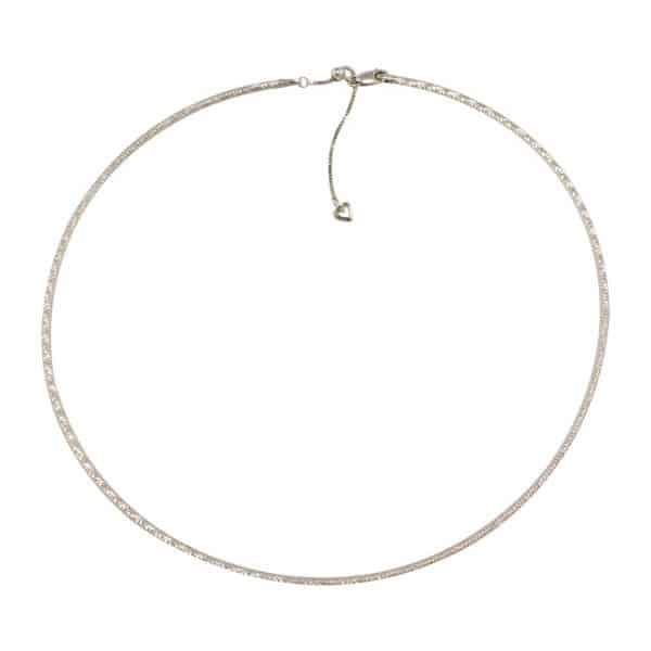 Reversible Diamond-Cut Omega Chain